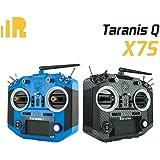 FrSky Upgraded Taranis Q X7S with M7 Hall Sensor Gimbal 16 Channels Transmitter (Blue)