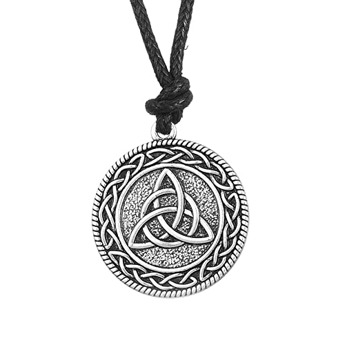 Amazon fishhook celtic knot triquerta trinity knotwork pendant fishhook celtic knot triquerta trinity knotwork pendant necklace for men and women aloadofball Image collections