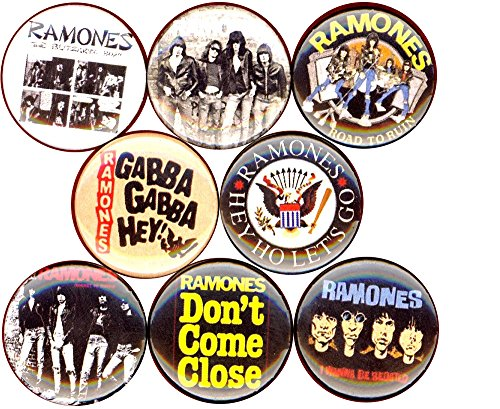 Ramones Pin Button - Ramones 8 NEW 1