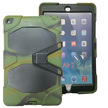 Amazon.com: kecko (TM) para iPad Air 2 Case, DEFENDER Series ...