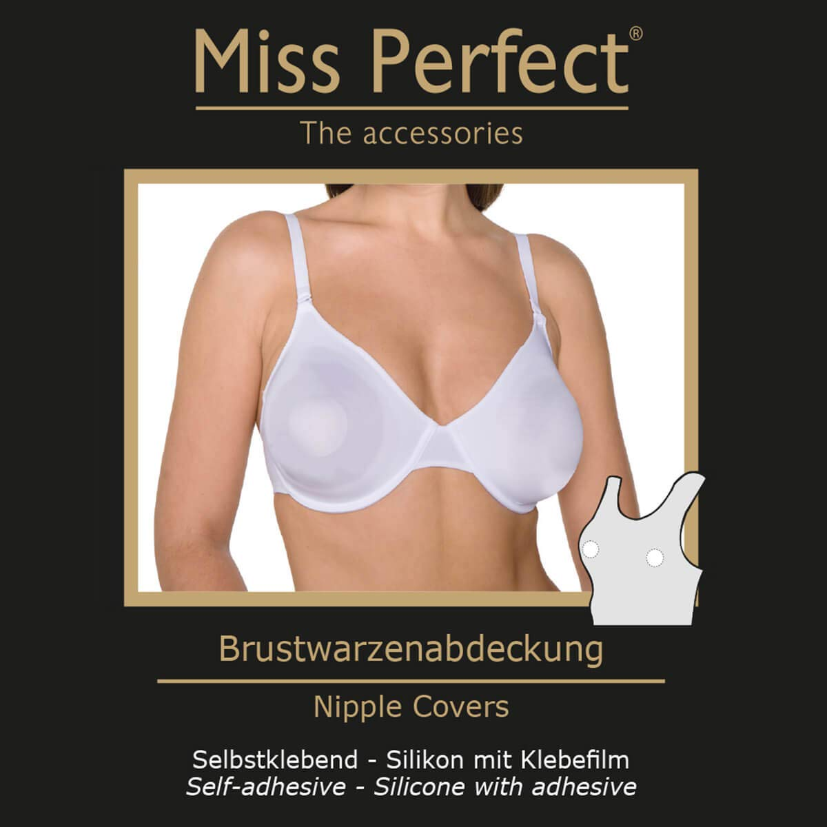 Miss Perfect Brustwarzenabdeckung
