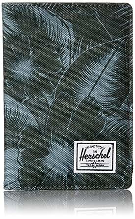 Herschel Supply Co. Men's Rayner Passport Holder, Jungle Floral Green, One Size