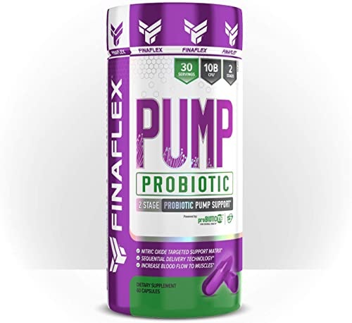 Pump Probiotic, Boosts Nitric Oxide Production, Max Pump, Full Serving of Probiotics, Gut Health, Increase Blood Flow, Healthy Digestion