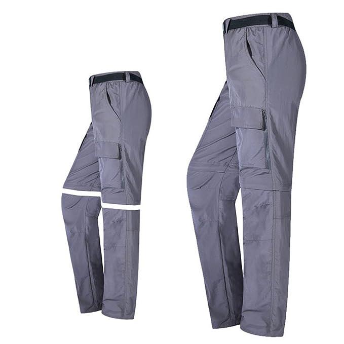 769a12a7f6 Uomo Quick Pantaloni Da Trekking Baymate Convertibili Dry Caldo ...