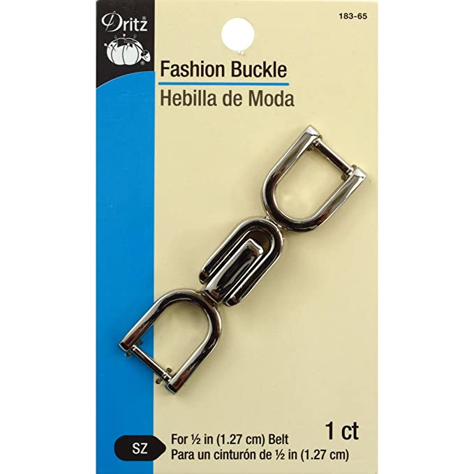 Amazon.com: Dritz 148-65 Fashion Buckle with Toggle Design 1-1/4 x 1-3/4-Inch Nickel: Arts, Crafts & Sewing