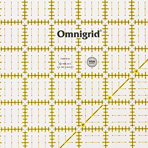 Omnigrid R45G 4-1//2-Inch by 4-1//2-Inch Grid Ruler