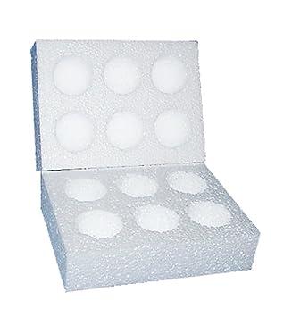 Poliestireno incubar huevo cajas postales - grande: Amazon.es: Oficina y papelería