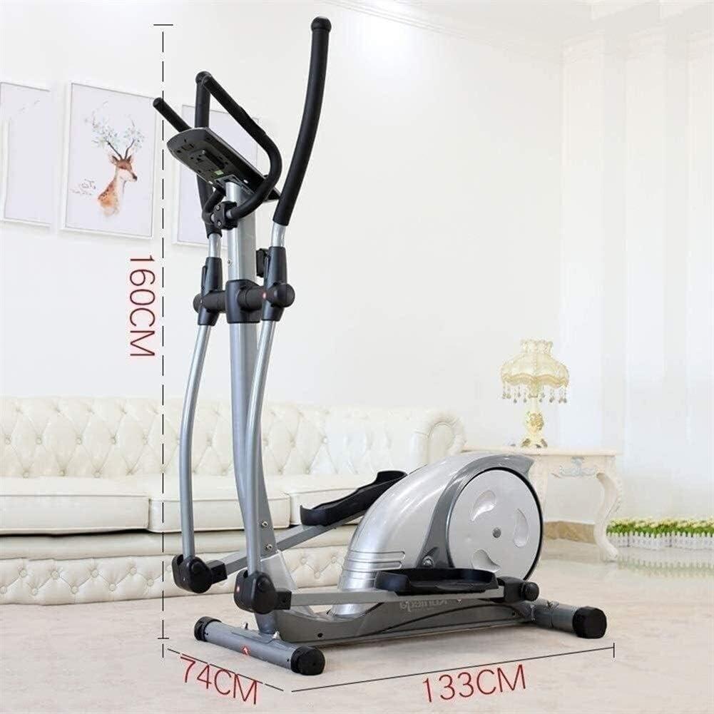 bicicletas de ejercicio con asientos y PC simple en casa HAOYF Entrenadores el/ípticos m/áquina de ejercicio electromagn/ético aer/óbico oficina de fitness