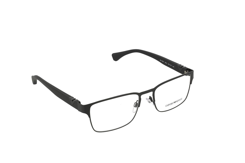 エンポリオアルマーニEA 1027メンズ眼鏡 B00P1DKAXS 5318-140|マットブラック マットブラック 5318-140