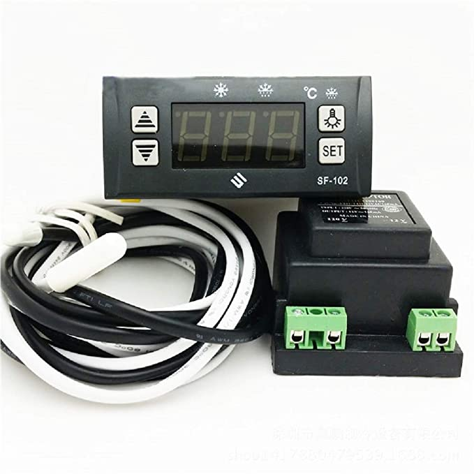 Amazon.com: MXBAOHENG SF-102 Electronic Temperature Controller Digital Display Freezer Thermostat 110V: Home & Kitchen