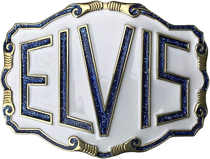 color blanco Letras ELVIS M