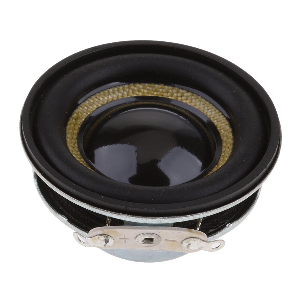 P Prettyia Diffusore Audio Stereo da 2 Pezzi 40mm 5w Altoparlante da 1,5 Pollici Full-Range da 4'e 8ohm