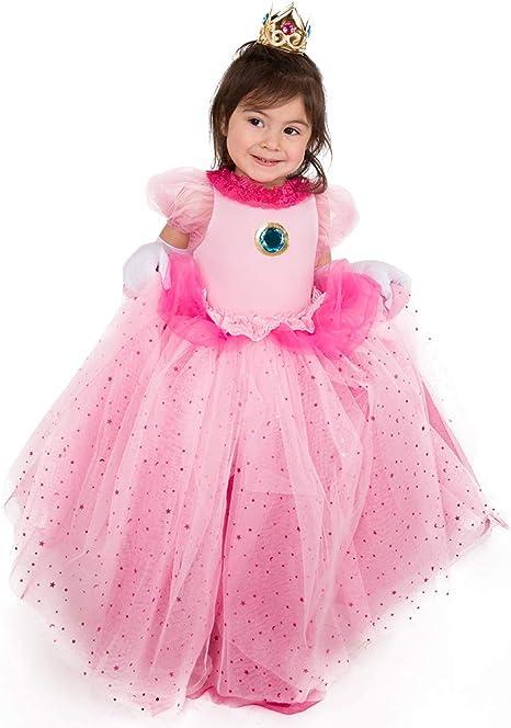 Amazon.com: Coskidz Disfraz de princesa de melocotón para ...