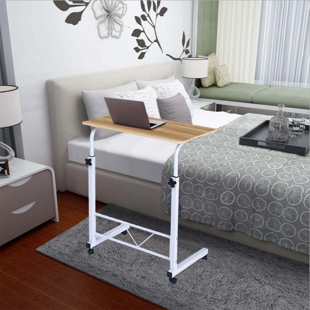 Cibee Adjustable TV Tray Table, Computer Desk Cart 23.6