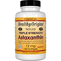 Healthy Origins Astaxanthin (AstaPure) 12 mg, 150 Softgels