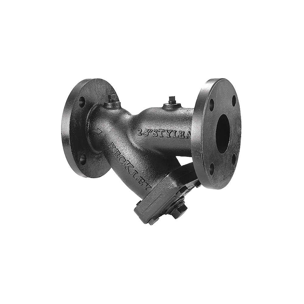 Flanged 1//8 Mesh 101FFY-CI125P34-FBI-A7-10 Y Strainer 25-3//4 Length Keckley Cast Iron