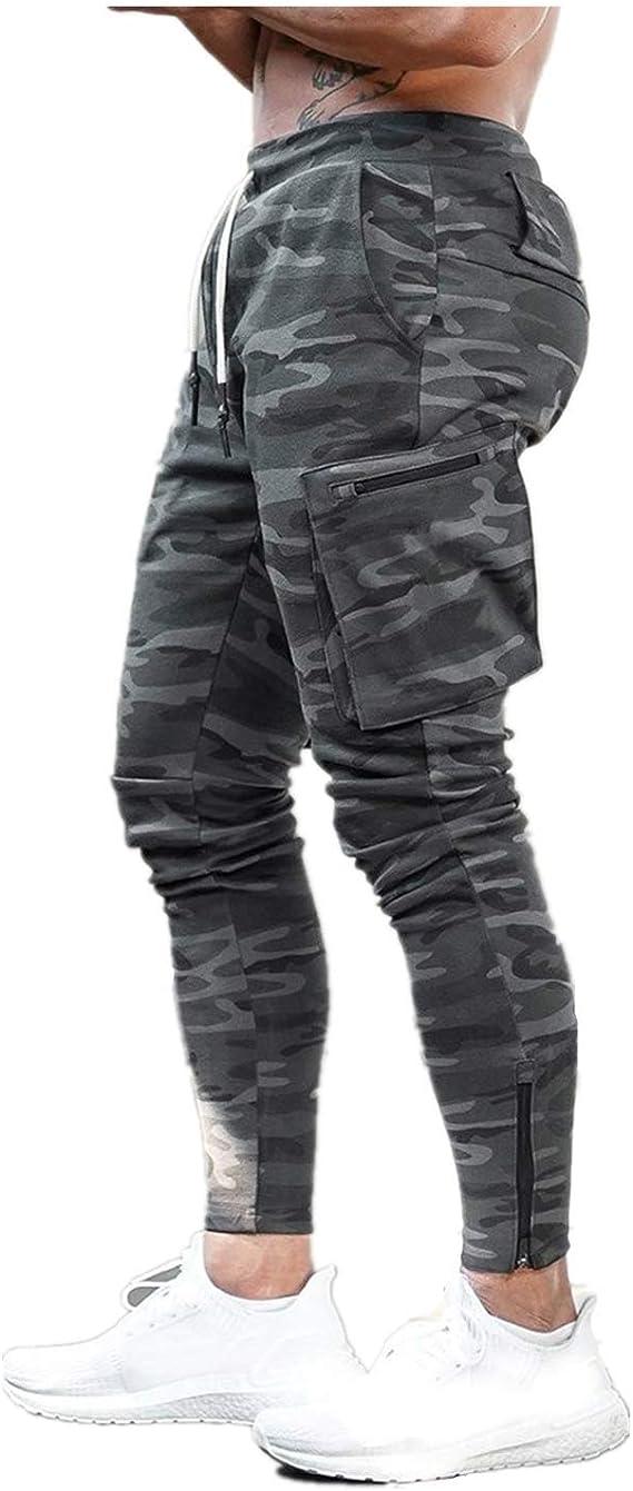 Nuevo Pantalones Deportivos Gym Hombre Pantalones de Chándal ...