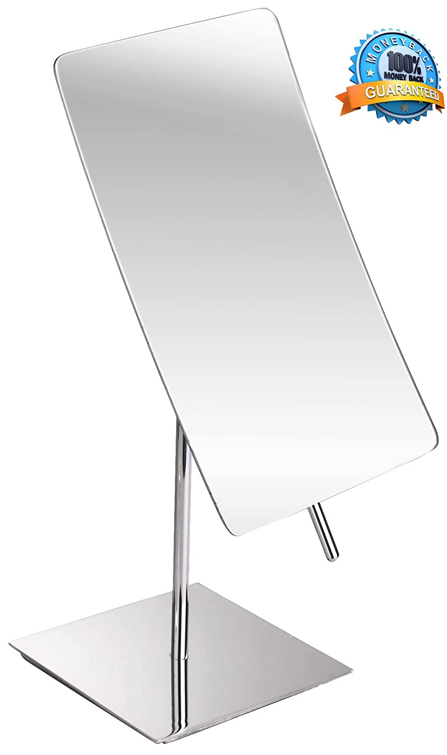3X Magnified Premium Modern Rectangle Vanity Makeup Mirror