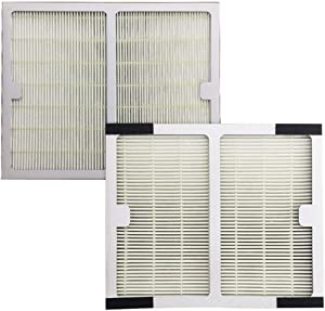 Iusun 1PC A Filter & 1PC B Filter Replacement Parts Spare Kits For Idylis IAP-10-150 Air Purifier Accessories Set (WHITE)