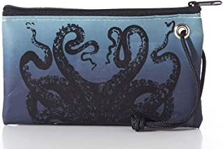 product image for Sea Bags Octopus on Blue Ombre Wristlet