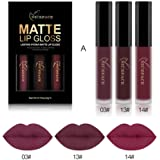 Anboo 14 Colos Choices Retro Matte Liquid Lipstick Waterproof Makeup Lip Gloss