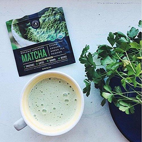 Jade Leaf - Organic Japanese Matcha Green Tea Powder - USDA Certified, Authentic Japanese Origin - Classic Culinary Grade (Smoothies, Lattes, Baking, Recipes) - Antioxidants, Energy [100g Value Size] by Jade Leaf Matcha (Image #6)