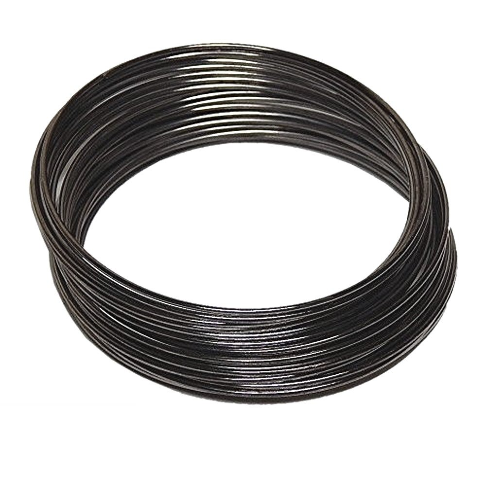 Silver Plated MEMORY WIRE 18g HEAVY DUTY 1mm choose plating 2.25 BRACELET SIZE 12 loops