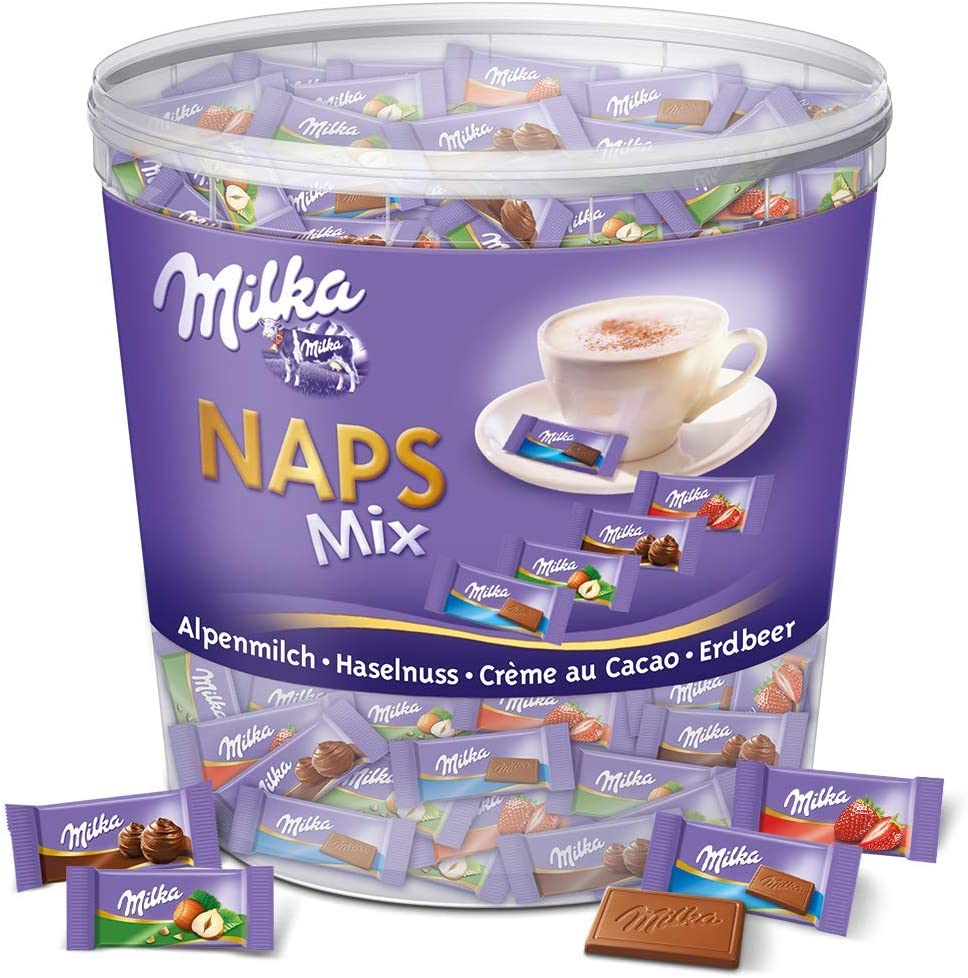 chocolat Milka Naps