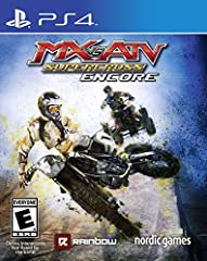 Rip, jump, and scrub your way on over 30 tracks and try to cross the finish line first against more than 60 official riders to attain all that motocross glory. Choose between bikes or ATVs, multiple game modes including Career, Single races, ...