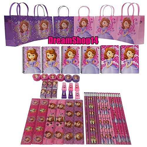 (Sofia The First Goody Bag Party Favor Stationery Set (54 pc))
