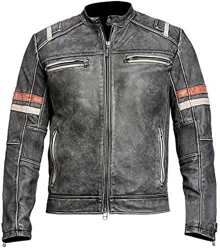 Cafe Racer Retro Jacket – Motorcycle Vntage Jacket – Style Leather Jacket