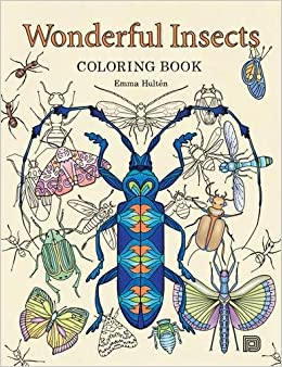 Amazon.com: Wonderful Insects Coloring Book (9789185639991): Emma ...