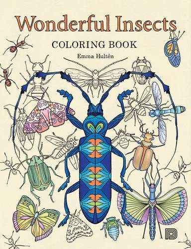 Wonderful Insects Coloring Book Hult%C3%A9n product image