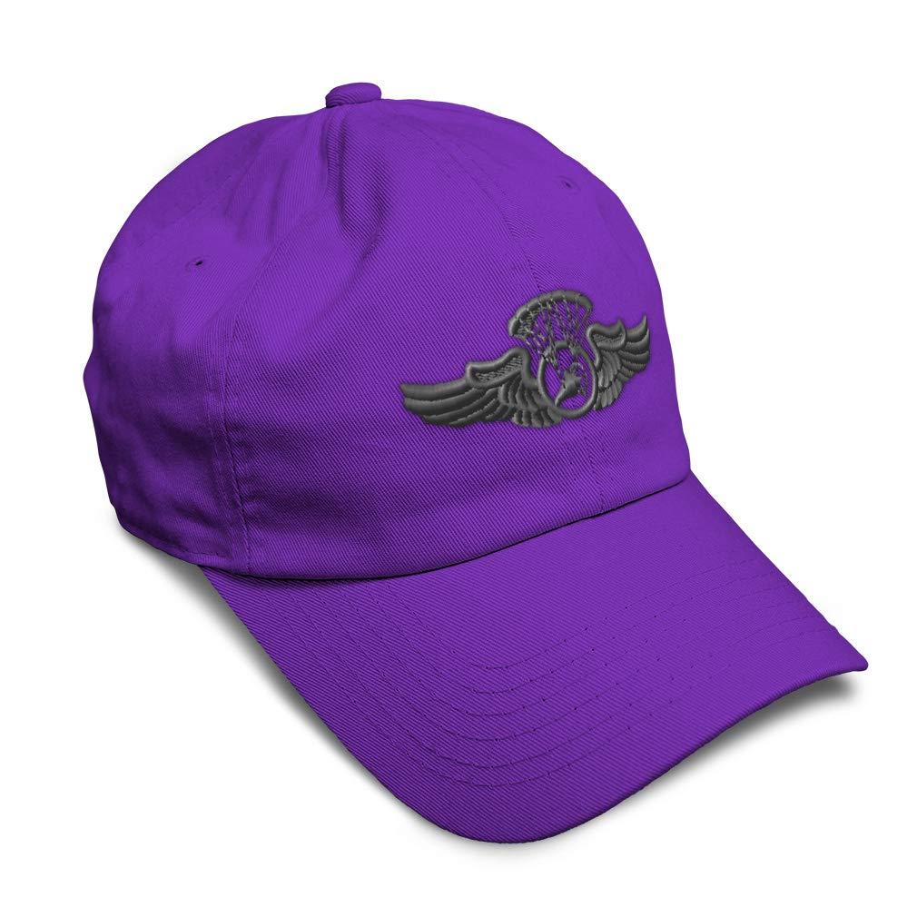 Custom Soft Baseball Cap Powered Parachute Embroidery Dad Hats for Men /& Women