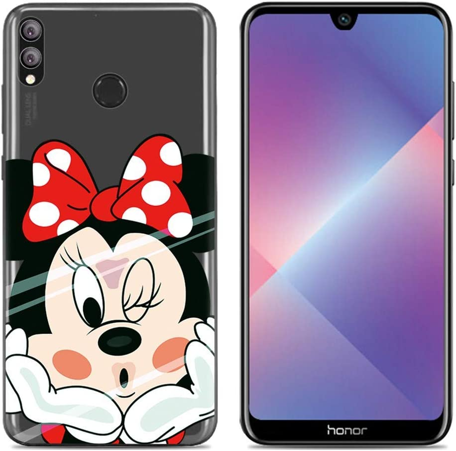 Aksuo Funda For Huawei Honor 8X , TPU Anti-Rasguño Anti-Golpes ...