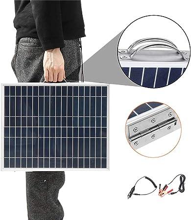 ZYRAY 40W / 18V Panel Solar Portátil Plegable, 2 Tabletas ...