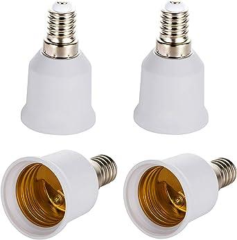 Adapter für Leuchtmittel 230V Kunststoff Fassung
