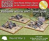 Plastic Soldier 1/72 WWII Russian 45mm Anti Tank