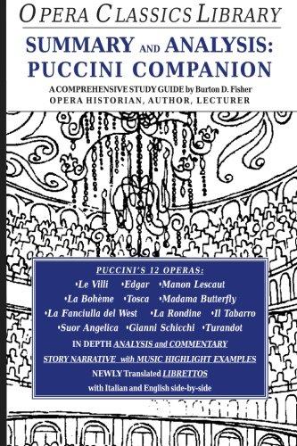 Summary and Analysis: Puccini Companion
