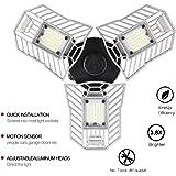 LED Garage Light and LED Ceiling Light, Indoor Deformable Light 6000LM, High Intensity Mining Lamps, Radar Home Lighting (ordinary)