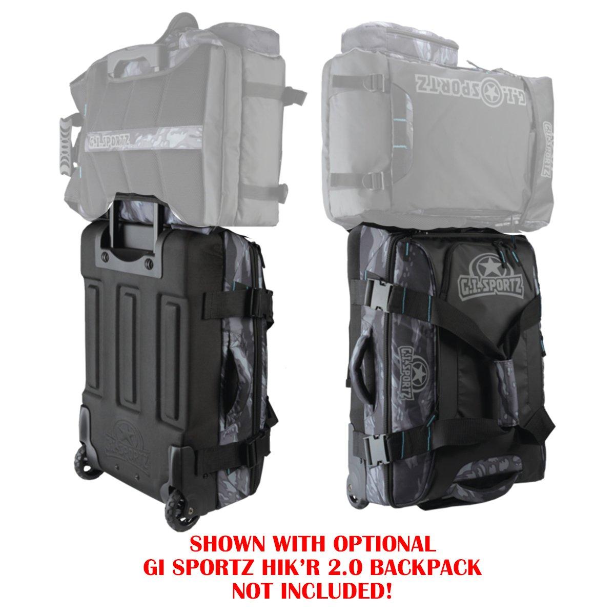 GI Sportz Paintball FLY'R 2.0 Carry On Gear Bag - Tiger Black by GI Sportz (Image #4)