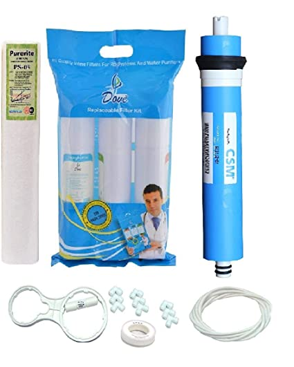 Mycica Complete Ultravoilet Replacement Kit With Philips Uv Lamp, Chamber, Smps & Teflon For Ro/Uv/Uf Water Purifier.