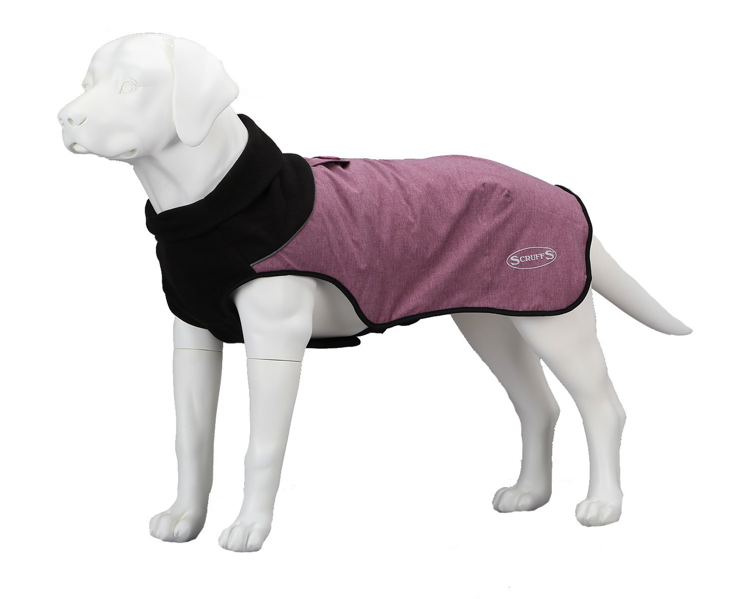 Scruffs Thermal Dog Coat, Cajun Magenta Purple