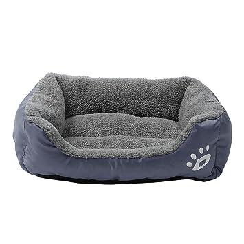 Heylookhere Mantas para Perros Pet Dog Cat Bed Puppy Cushion House Manta para Perros Soft Warm