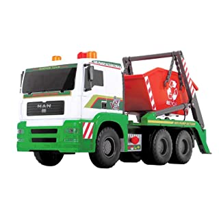 Dickie Toys 203809002–Air Pump Container Truck, Veicolo di Container con Container, 48cm