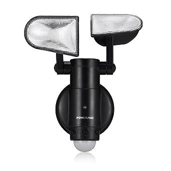 Berühmt POWERADD LED Außenleuchte Außenlampe mit Bewegungsmelder und XB64