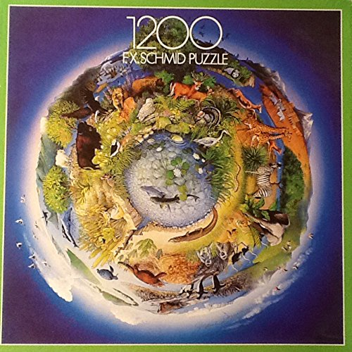 Endangered Animals of the World 1200 F.X. Schmid Jigsaw Puzzle