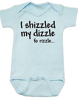 Bullshirt I Just Shizzled My Dizzle Short Sleeve Babygrow