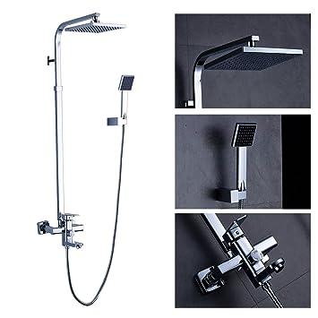 Manteles individuales de ducha Auralum® Elegante Cromado ...