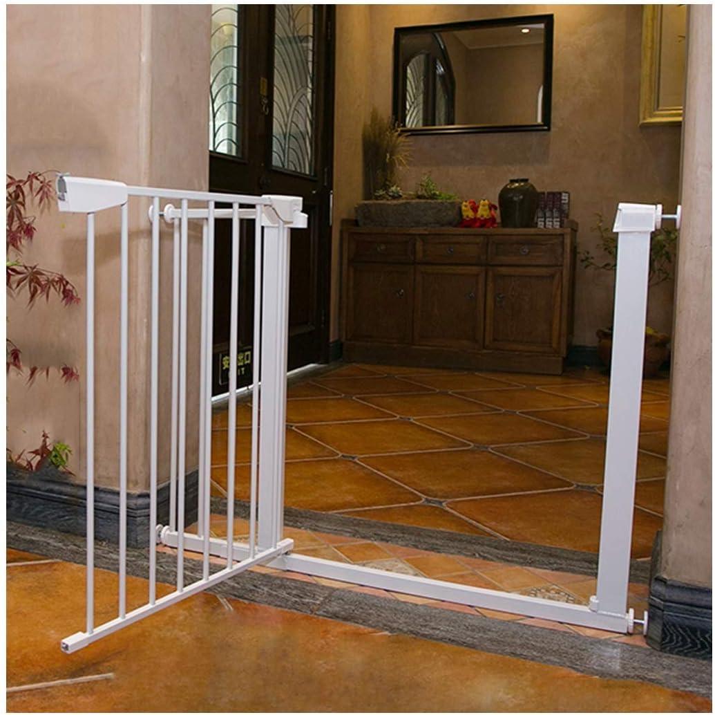 AZWE Valla extensible para mascotas Pasea por la puerta Punch-Freesafety Escalera Chimenea Cerca Puerta de aislamiento anti-mascotas Barandilla interior para escaleras,High75cm Ancho,152-159cm: Amazon.es: Bricolaje y herramientas